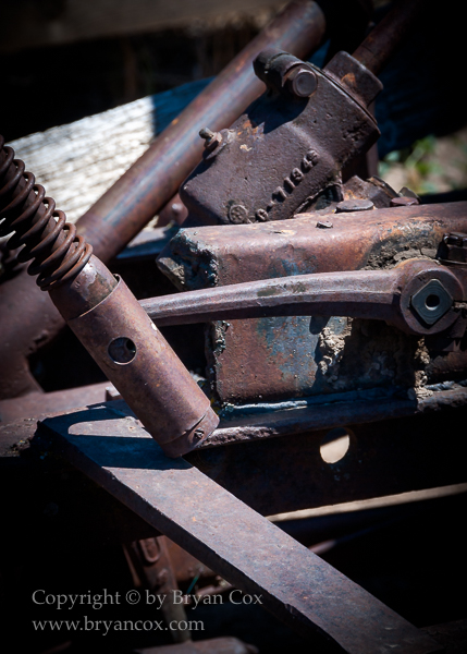Image of Detail of farm machinery