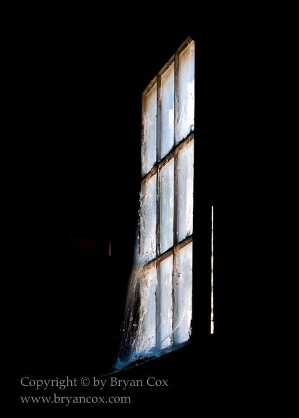 Image of Sheep barn window