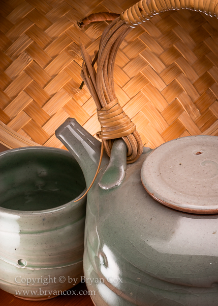 Image of Teapot & Cup by Ginny Marsh