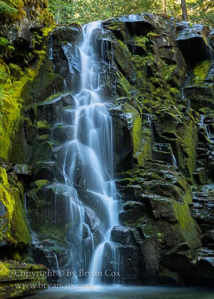 Image of Detail of Pine Creek Falls